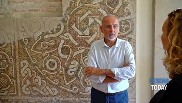 """""""Il mosaico romano è stato restaurato e non è una pantera, ma un orso: parola di archeologi"""""""