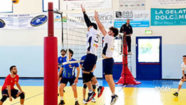 pallavolo 1 divisione maschile  interterritoriale rubicone in volley riv-conselice in volley 3-0-2