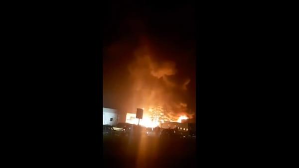 Devastante incendio a Campomaggi Caterina Lucchi