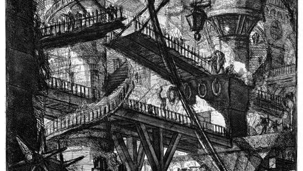 """Sospesa la mostra """"Carceri d'invenzione"""" di Giambattista Piranesi"""
