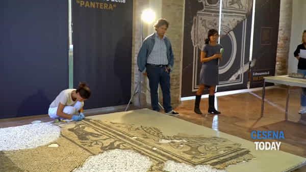 Mosaico romano, ecco le tecniche con cui è stato recuperato dai restauratori