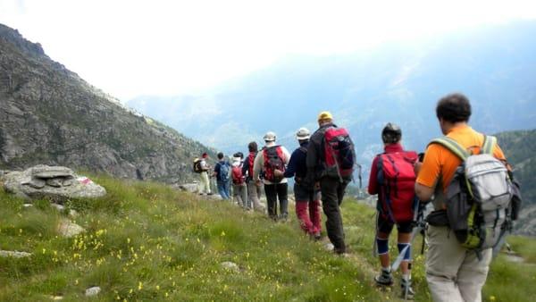 A piedi lungo il Sentiero del Crinale