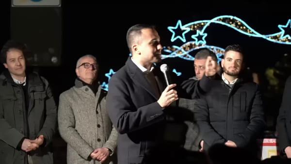 """Luigi di Maio a Cesenatico: """"Il Movimento sarà sempre un'alternativa a destra e sinistra"""""""