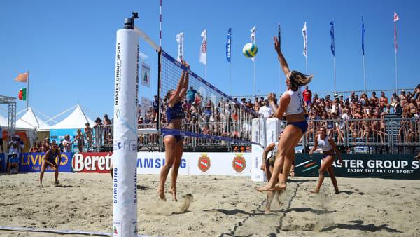 La spiaggia di Cesenatico ospita il Campionato Italiano di Beach Volley
