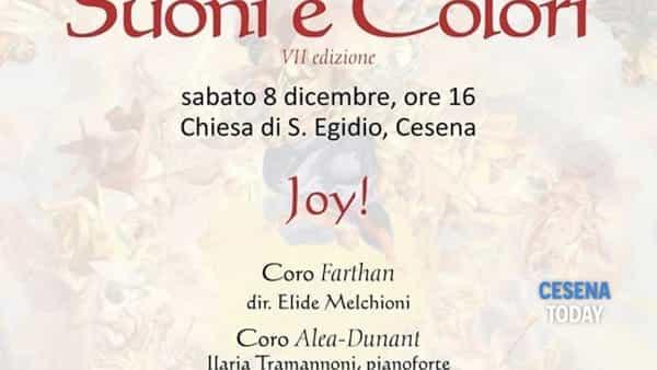 I cori di Lugo e Marzabotto per il concerto Joy nella chiesa di Sant'Egidio