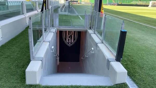 Finale di Coppa Italia in sicurezza, Manuzzi 'tirato a lucido': le operazioni di sanificazione