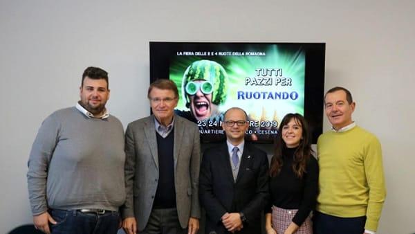 """Passione a due e quattro ruote a Cesena Fiera, scalda i motori """"Ruotando"""""""