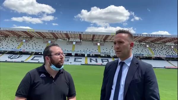 """Il ds Zebi e i ricordi da calciatore del Cesena: """"Il rientro da Verona il momento più bello"""""""