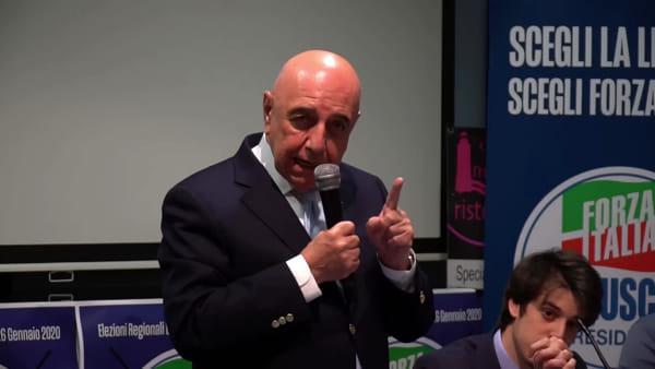 """Galliani e i tempi del Milan: """"Berlusconi ci faceva fare gli esercizi spirituali"""""""