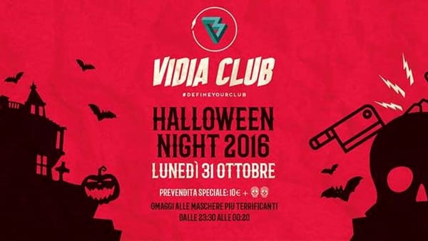 Halloween Night al Vidia, fra musica e...Stranger Things
