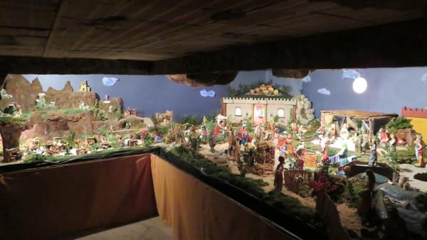 Il presepe di San Giuseppe artigiano a Villachiaviche