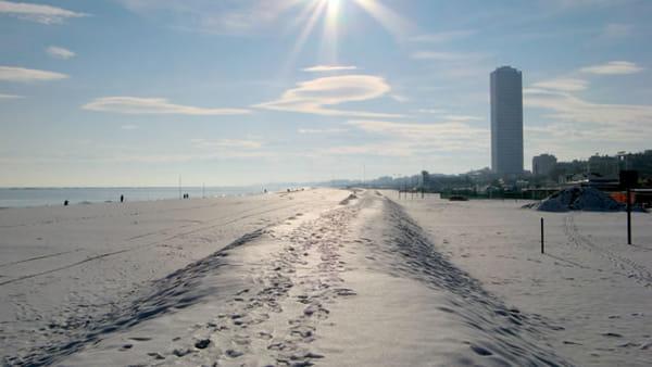 Spiagge pulite: volontari in azione per pulire il lungomare