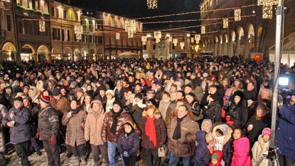 Il Capodanno 2017 si festeggia a Cesena in piazza del Popolo