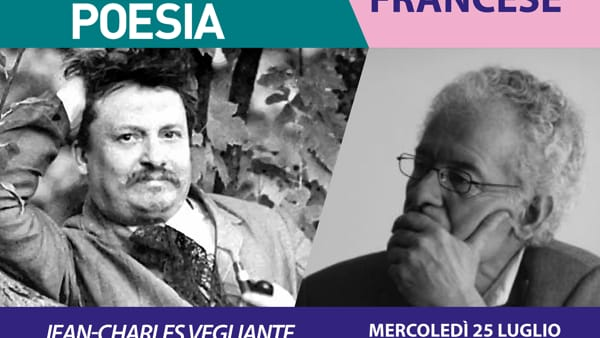 Un'ospite d'eccezione al Giardino della Poesia: il professor Jean-Charles Vegliante