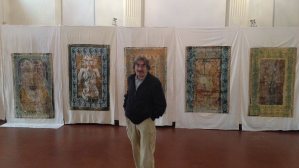 """""""Trame e segni"""": la Galleria Comunale d'Arte del Palazzo del Ridotto ospita la personale di Silvano"""