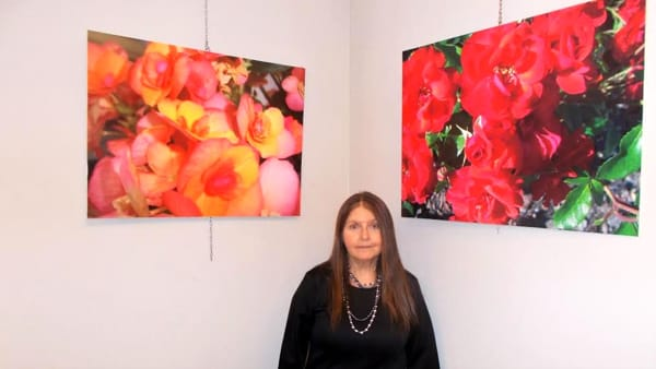 A Sarsina i fiori di Lia Briganti esposti in una mostra fotografica