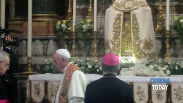 Il Papa in Cattedrale