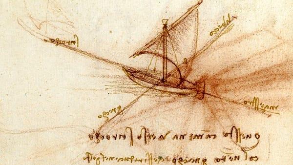 Gli studi navali di Leonardo. Disegni e modelli che hanno fatto la storia