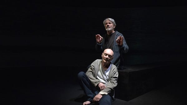 Enzo Vetrano e Stefano Randisi portano in scena un dialogo fra Lucrezio e Seneca