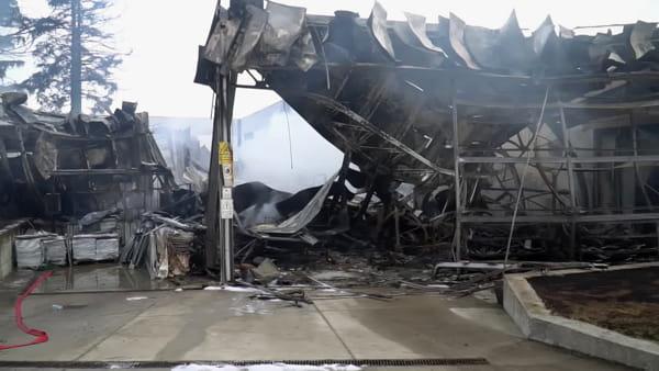 Fiamme devastanti, distrutto il colosso cesenate della pelletteria: il day after