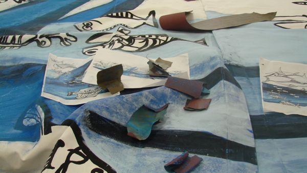 """""""Il mare è il cielo dei pesci"""": tornano al Museo della Marineria le """"tende al mare"""""""