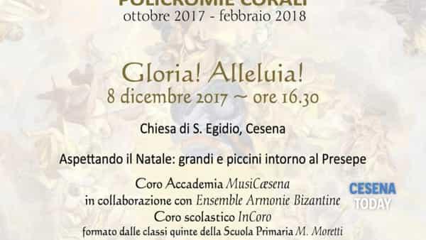 """Suoni e colori: canzoni di Natale al grido di """"Gloria"""" Alleluia!"""""""