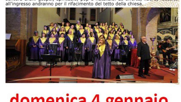 """L'""""Intercity gospel train orchestra"""" in concerto alla chiesa di Villachiaviche"""
