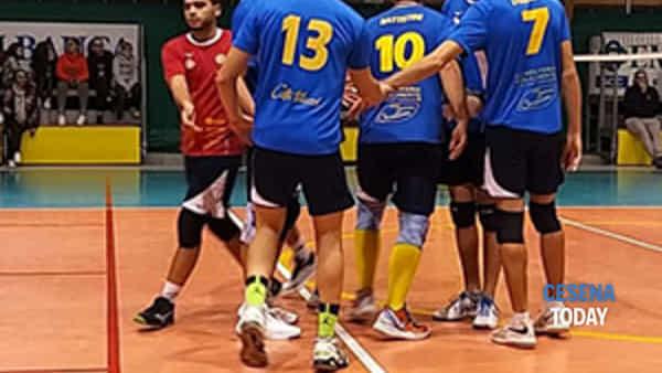 pallavolo maschile serie d:argenta volley-rubicone in volley 1-3-2