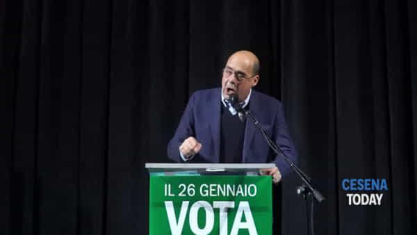 """Zingaretti a Cesena: """"Salvini è il migliore a raccontare i problemi, ma il peggiore a risolverli"""""""