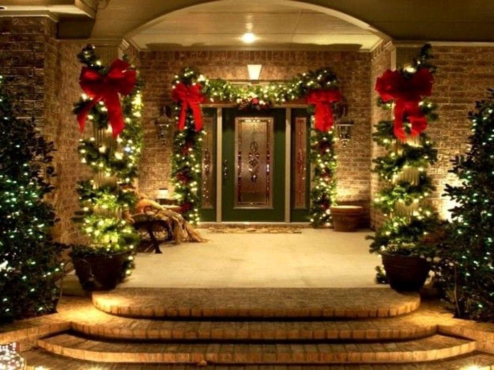 Addobbi Natale.Natale In Giardino Ecco Come Addobbare Cortili E Balconi