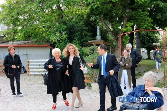 Visita a sorpresa del ministro Stefani per Andrea Rossi (foto di Piero Pasini)