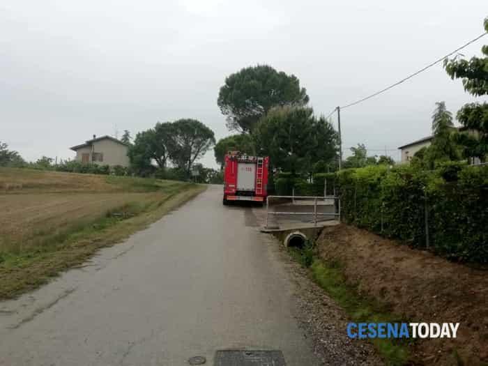 Maltempo, situazione critica a Cesena